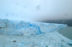 Chunks of ice from the glaciar
