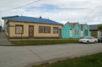 Colourful houses in Puerto Natales