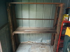 Shelves for the garden shed